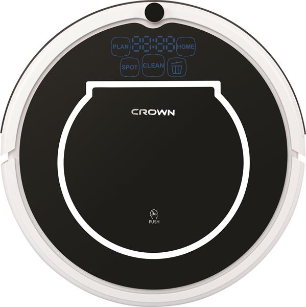 תמונה של שואב אבק רובוטי עם אביזר שטיפה CROWN