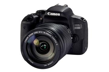 מצלמה רפלקסית מקצועית + עדשה  CANON