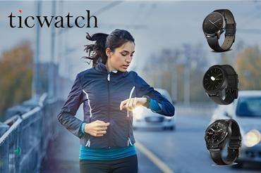 תמונה עבור הקטגוריה שעונים החכמים של Ticwatch