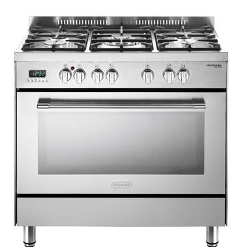 """- תנור משולב רוחב 90 ס""""מ DELONGHI NDS940X"""